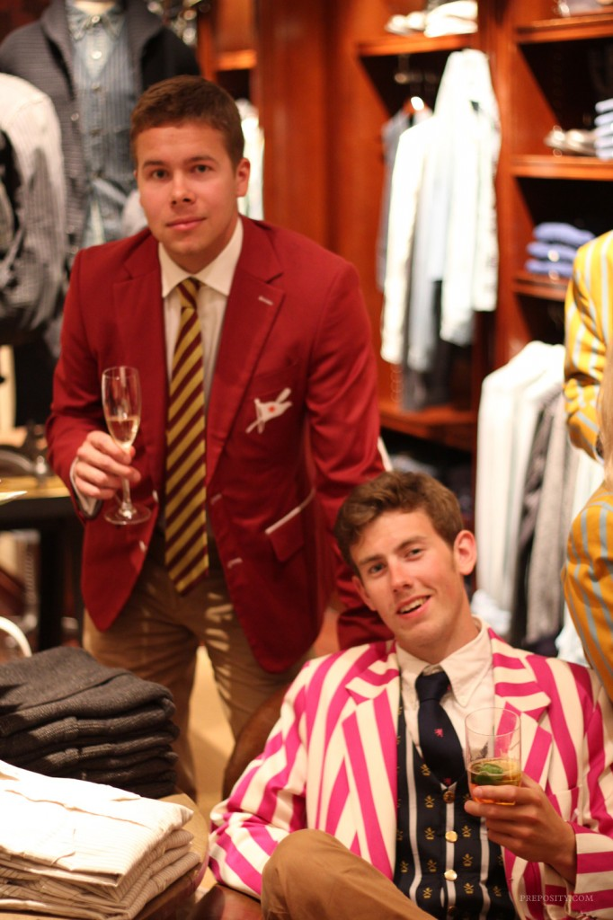 Rowing Blazers Book Launch At Ralph Lauren Preposity